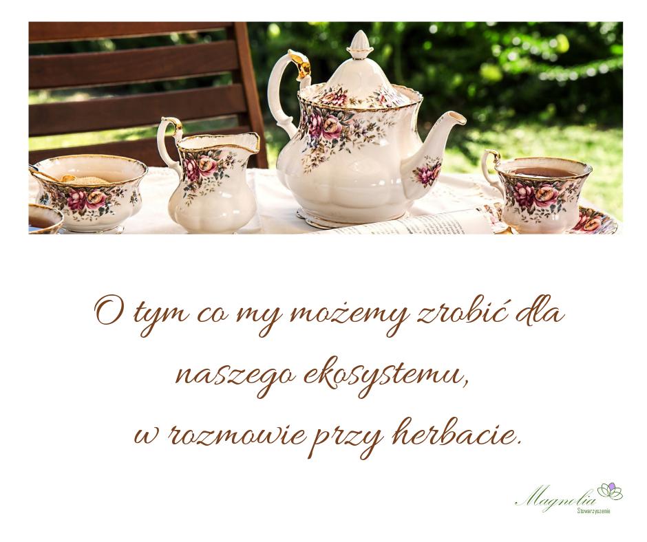 Rozmowa przy herbacie